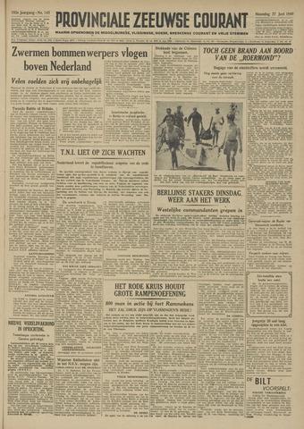 Provinciale Zeeuwse Courant 1949-06-27