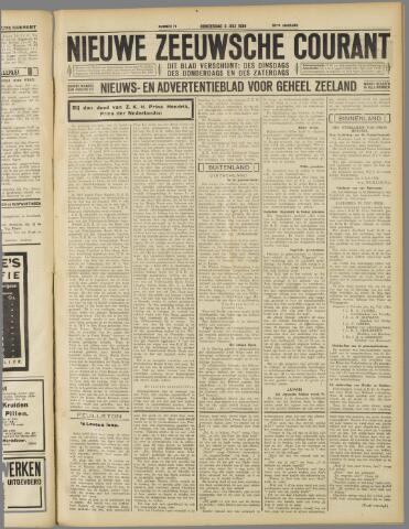 Nieuwe Zeeuwsche Courant 1934-07-05