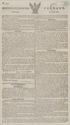 Middelburgsche Courant 1832-04-19