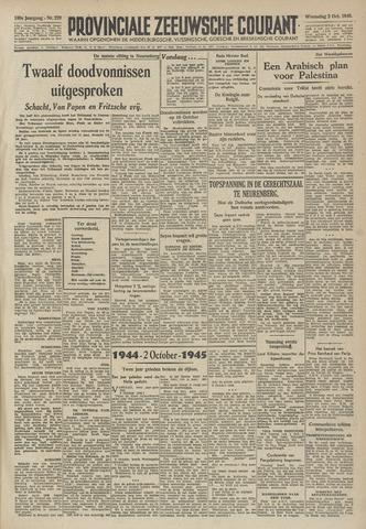 Provinciale Zeeuwse Courant 1946-10-02