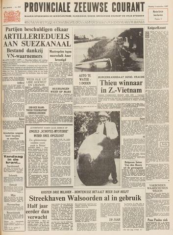 Provinciale Zeeuwse Courant 1967-09-05