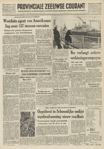 Provinciale Zeeuwse Courant 1956-07-11