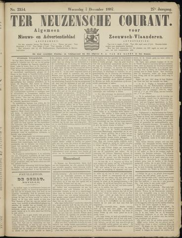 Ter Neuzensche Courant. Algemeen Nieuws- en Advertentieblad voor Zeeuwsch-Vlaanderen / Neuzensche Courant ... (idem) / (Algemeen) nieuws en advertentieblad voor Zeeuwsch-Vlaanderen 1887-12-07