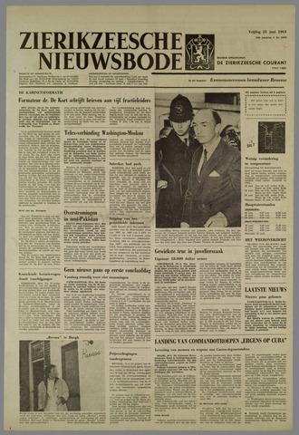 Zierikzeesche Nieuwsbode 1963-06-21