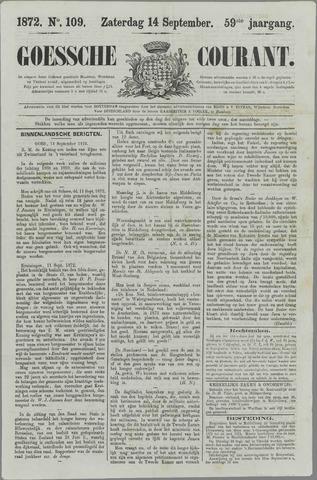 Goessche Courant 1872-09-14