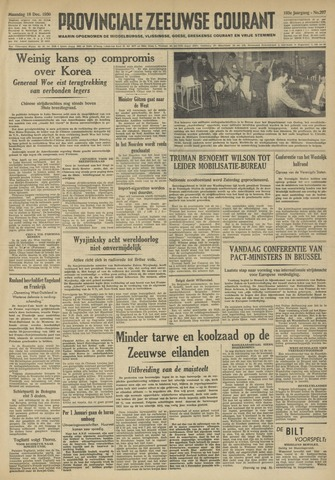 Provinciale Zeeuwse Courant 1950-12-18