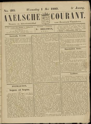 Axelsche Courant 1889-05-01