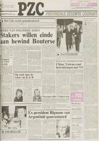Provinciale Zeeuwse Courant 1984-01-12