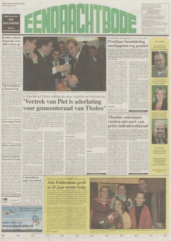 Eendrachtbode (1945-heden)/Mededeelingenblad voor het eiland Tholen (1944/45) 2004-12-16