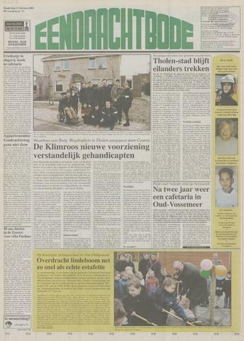 Eendrachtbode (1945-heden)/Mededeelingenblad voor het eiland Tholen (1944/45) 2004-02-12