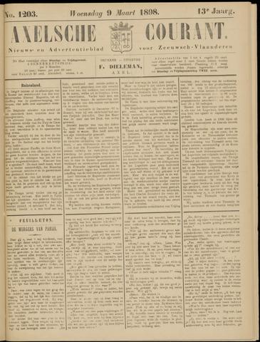 Axelsche Courant 1898-03-09