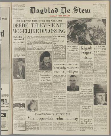 de Stem 1965-02-22
