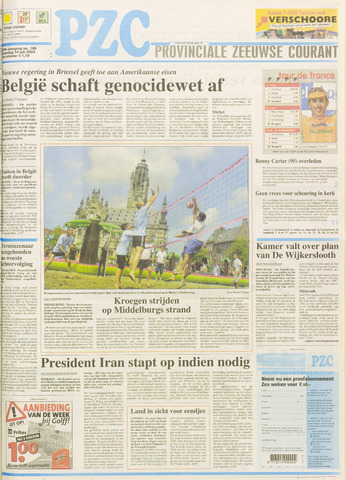 Provinciale Zeeuwse Courant 2003-07-14