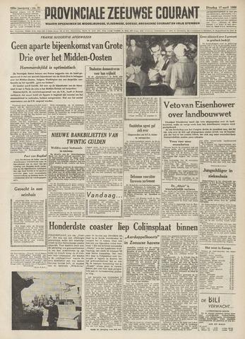 Provinciale Zeeuwse Courant 1956-04-17