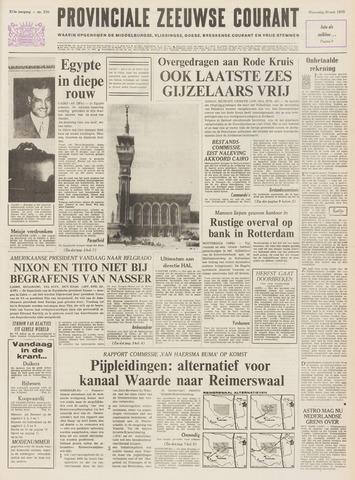 Provinciale Zeeuwse Courant 1970-09-30