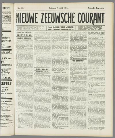 Nieuwe Zeeuwsche Courant 1911-07-08