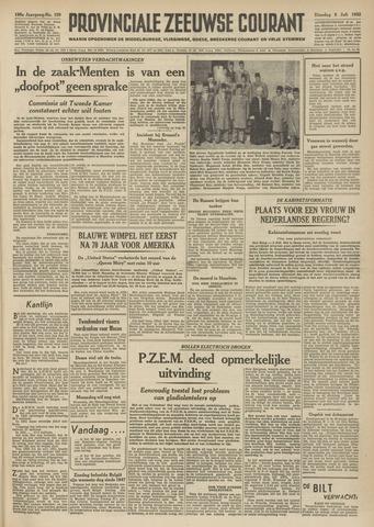 Provinciale Zeeuwse Courant 1952-07-08
