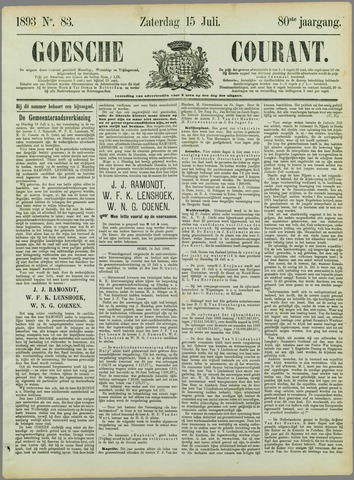 Goessche Courant 1893-07-15