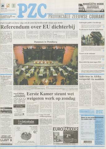 Provinciale Zeeuwse Courant 2002-11-06