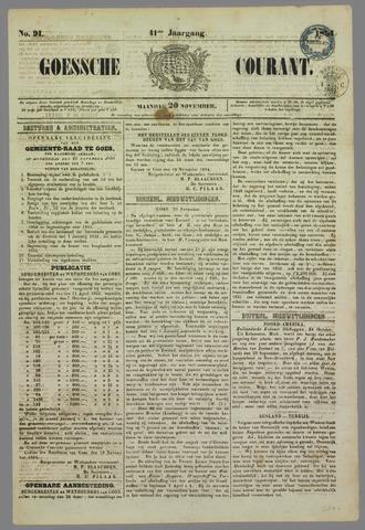 Goessche Courant 1854-11-20