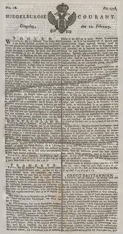 Middelburgsche Courant 1778-02-10
