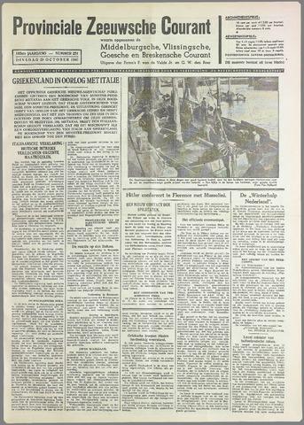 Provinciale Zeeuwse Courant 1940-10-29