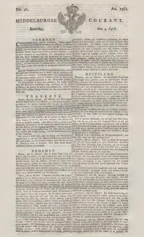 Middelburgsche Courant 1761-04-04