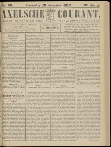 Axelsche Courant 1913-11-26