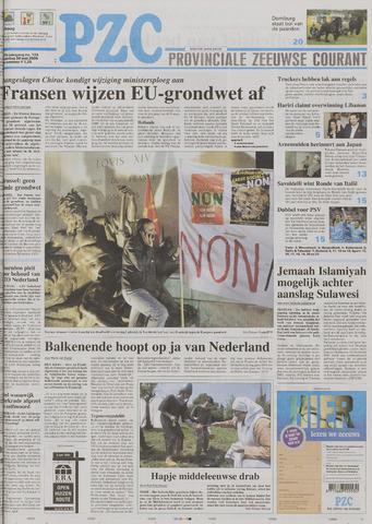Provinciale Zeeuwse Courant 2005-05-30