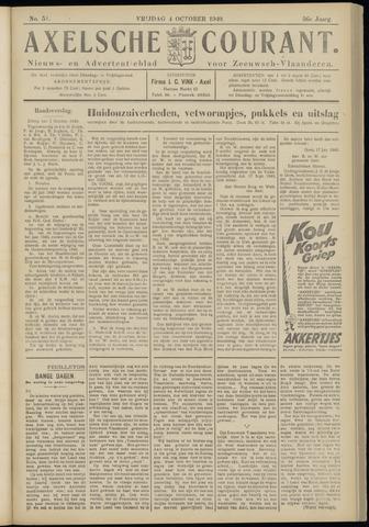 Axelsche Courant 1940-10-04