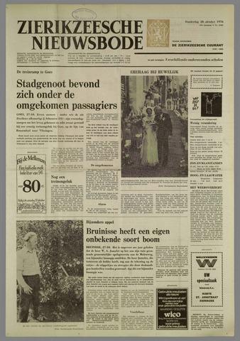 Zierikzeesche Nieuwsbode 1976-10-28