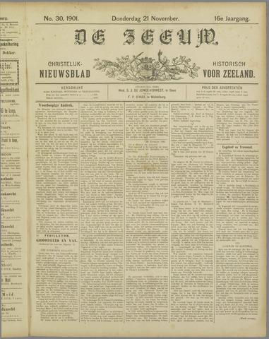 De Zeeuw. Christelijk-historisch nieuwsblad voor Zeeland 1901-11-21