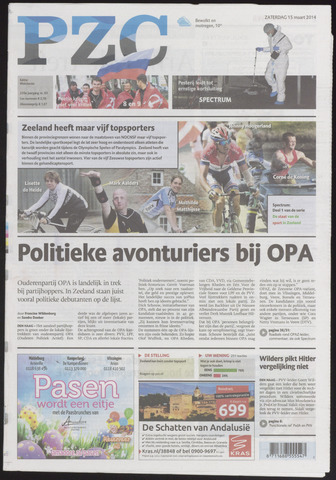 Provinciale Zeeuwse Courant 2014-03-15