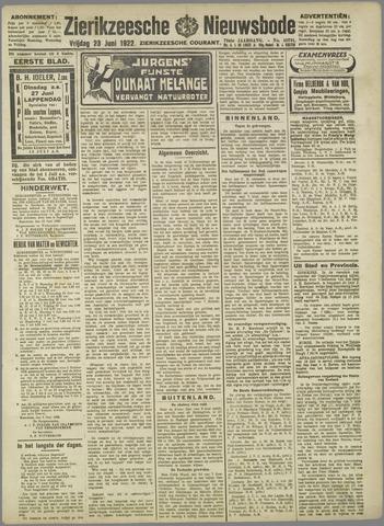 Zierikzeesche Nieuwsbode 1922-06-23
