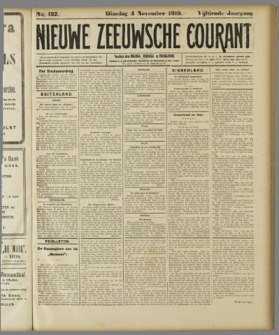 Nieuwe Zeeuwsche Courant 1919-11-04