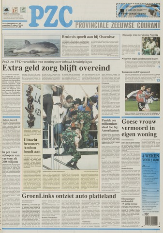 Provinciale Zeeuwse Courant 1999-03-01