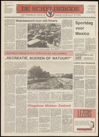Scheldebode 1986-06-26