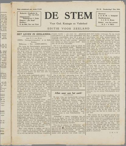 de Stem 1944-12-07