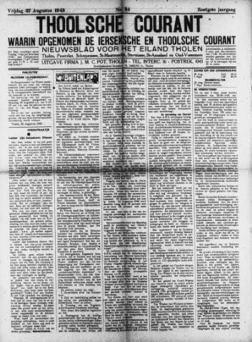 Ierseksche en Thoolsche Courant 1943-08-27