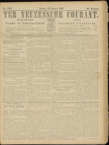 Ter Neuzensche Courant. Algemeen Nieuws- en Advertentieblad voor Zeeuwsch-Vlaanderen / Neuzensche Courant ... (idem) / (Algemeen) nieuws en advertentieblad voor Zeeuwsch-Vlaanderen 1906-10-23