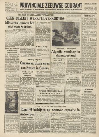 Provinciale Zeeuwse Courant 1961-05-13