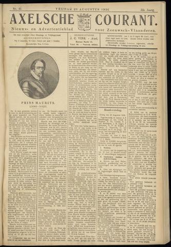 Axelsche Courant 1936-08-28