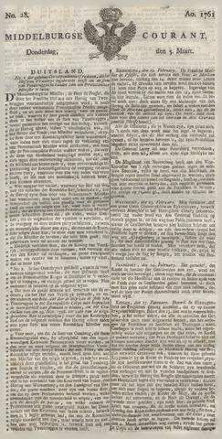 Middelburgsche Courant 1761-03-05