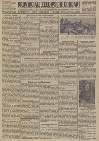 Provinciale Zeeuwse Courant 1942-11-19