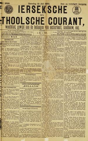 Ierseksche en Thoolsche Courant 1905-07-15