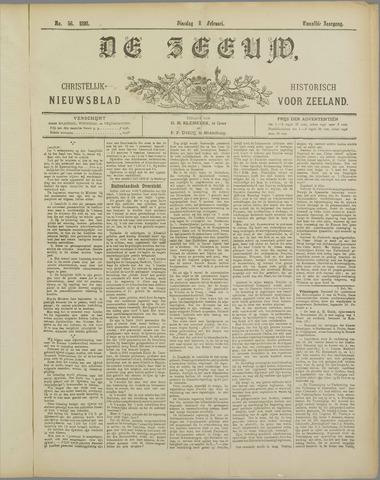 De Zeeuw. Christelijk-historisch nieuwsblad voor Zeeland 1898-02-08
