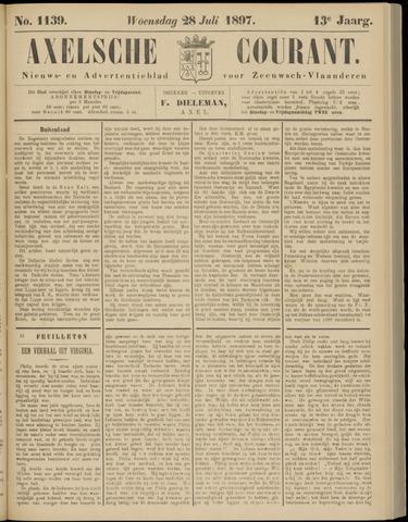 Axelsche Courant 1897-07-28