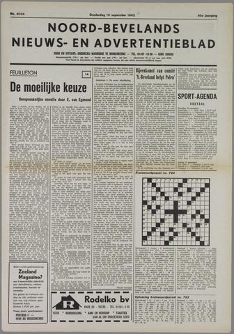 Noord-Bevelands Nieuws- en advertentieblad 1982-09-16