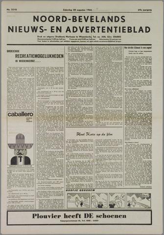 Noord-Bevelands Nieuws- en advertentieblad 1966-08-20