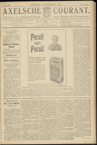 Axelsche Courant 1935-11-01